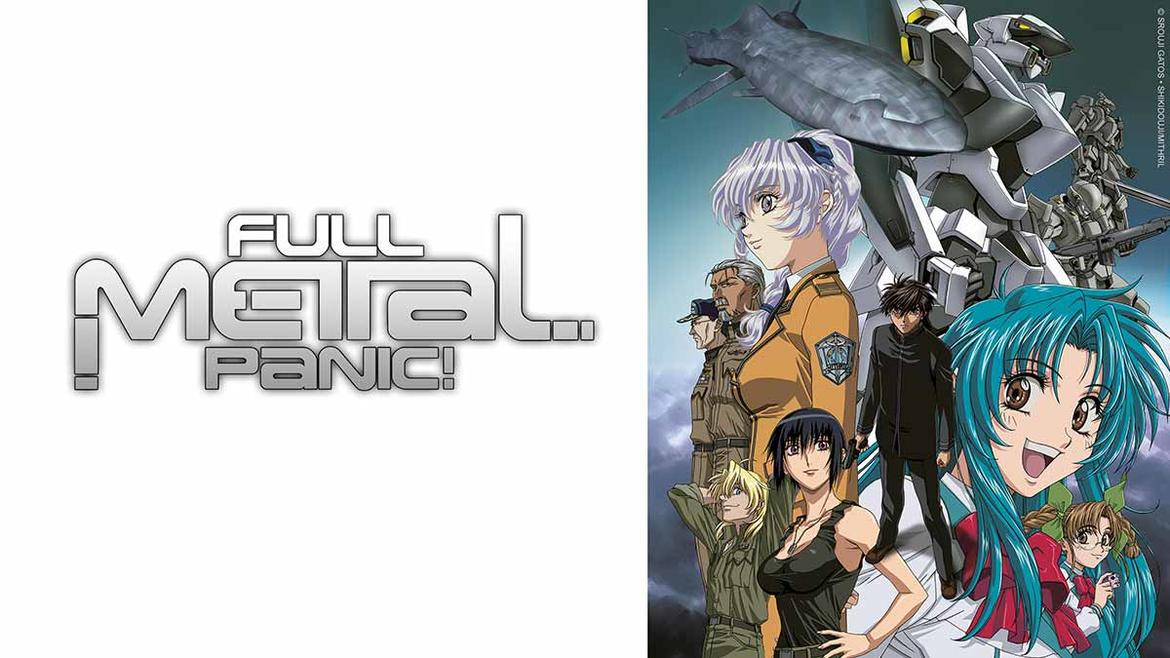 Full Metal Panic, onilne Anime, Amazon Animax