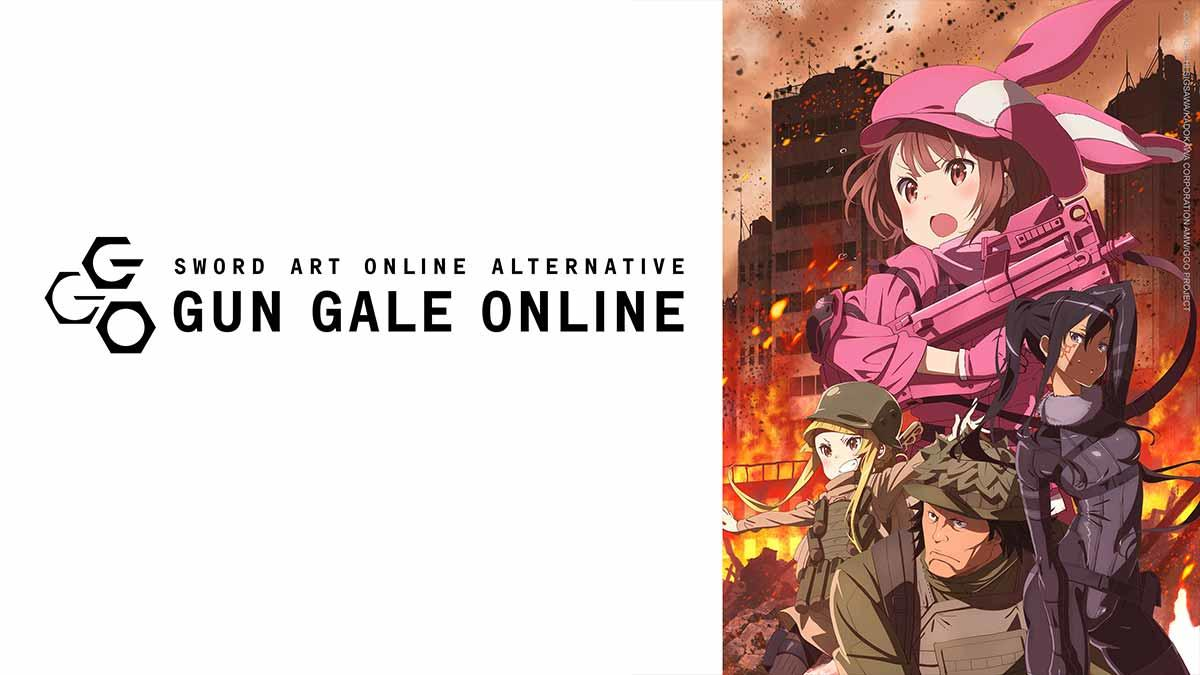 Sword Art Online Alternative: Gun Gale Online exklusiv auf Abruf bei ANIMAX