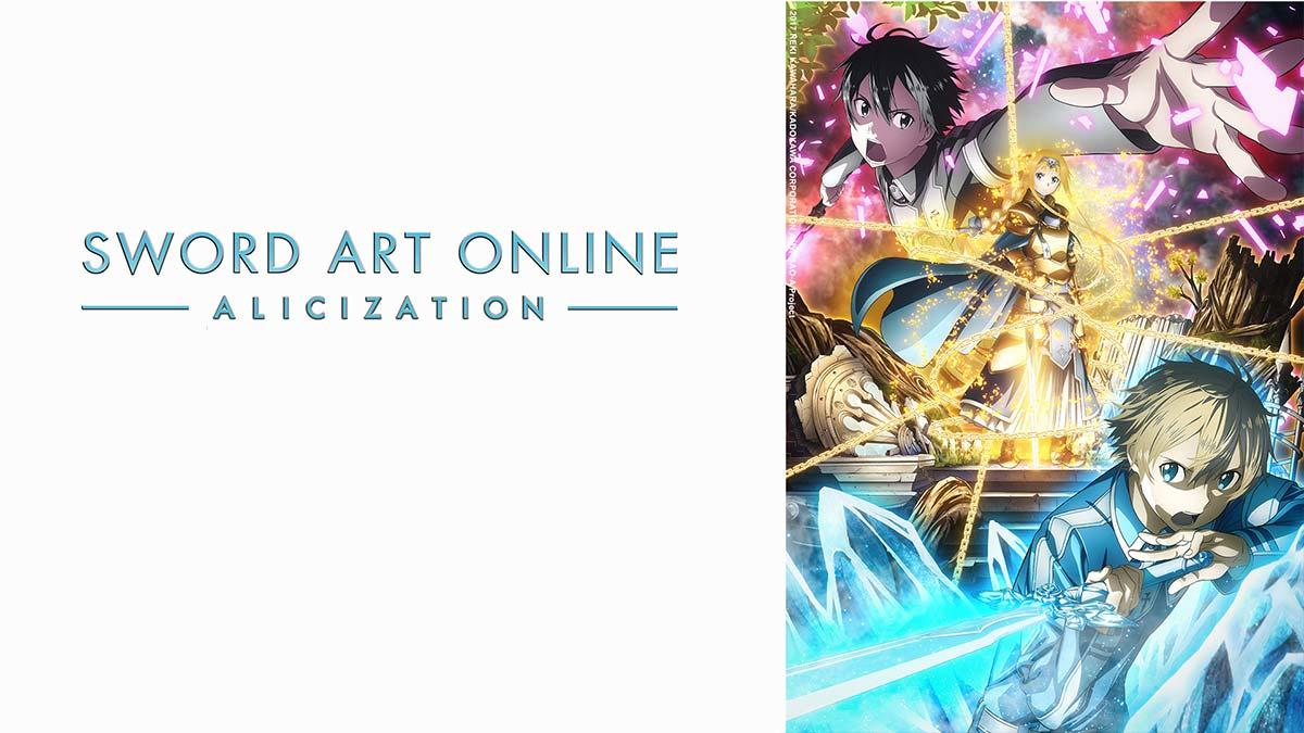 Sword Art Online: Alicization, Anime, Animax, Amazon, Vodafone