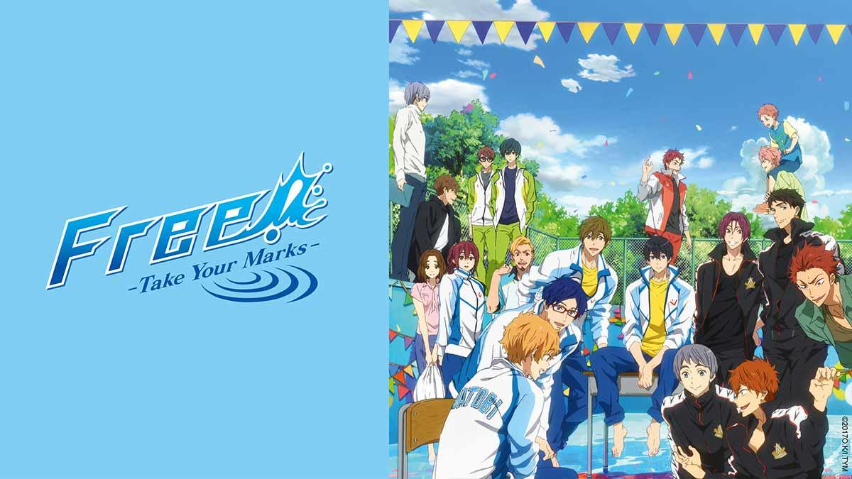Free! take your marks, Anime, Animax, Amazon, Vodafon