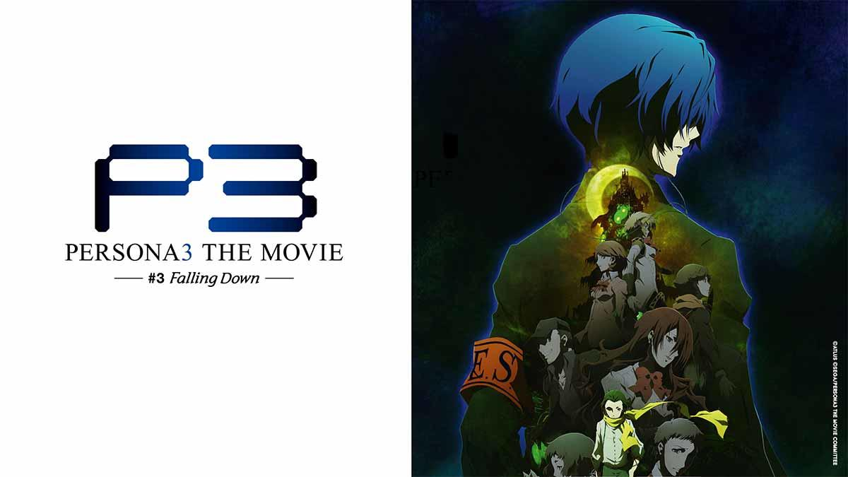 Persona3 - The Movie #3 Falling Down auf Abruf bei ANIMAX