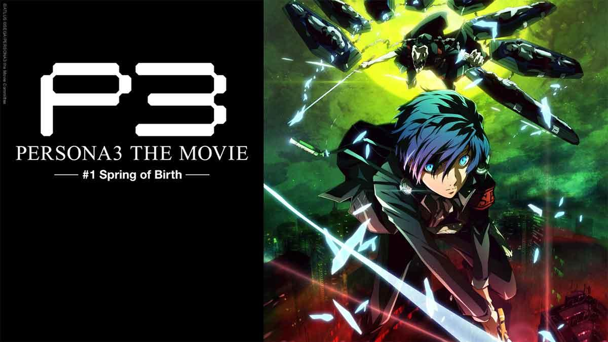 Persona 3 the Movie #1 - Spring of Birth auf Abruf bei ANIMAX