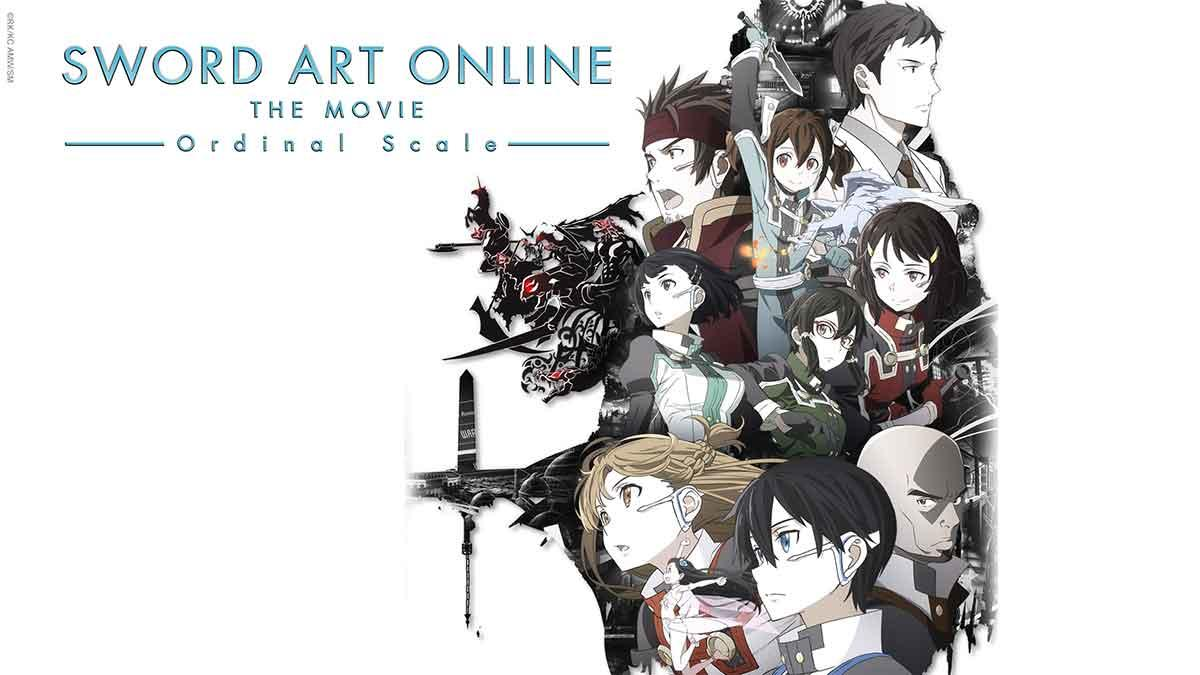 Sword Art Online – The Movie – Ordinal Scale auf Abruf bei ANIMAX